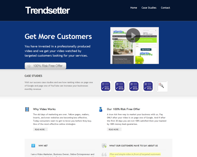 Trendsetter Websites Video Marketing